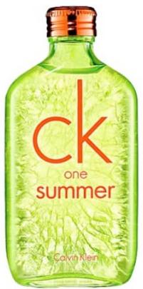 Photo du parfum CK One Summer 2012