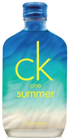 Photo du parfum CK One Summer 2015