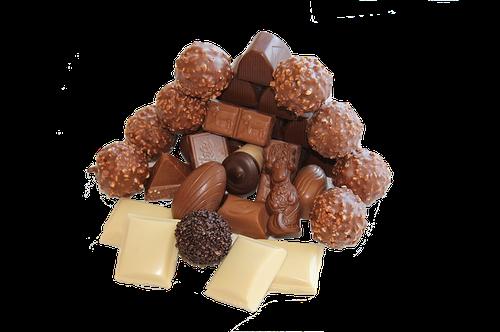 Chocolat en parfumerie