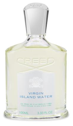 Virgin Island Water de Creed, voyage sur les îles vierges
