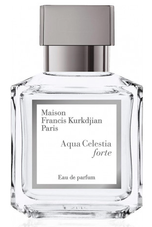 Aqua Celestia Forte de Maison Kurkdjian, pure et aérienne