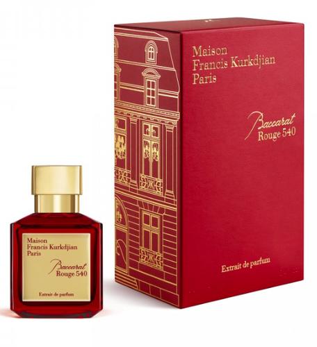 Photo du parfum Baccarat Rouge 540 Extrait de parfum