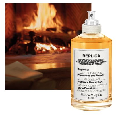 Photo du parfum By The Fireplace