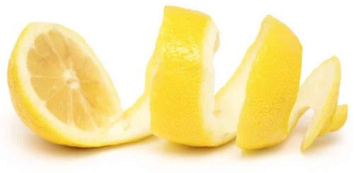 Pelure de Citron en parfumerie