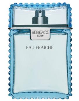 Versace Man Eau Fraiche de Versace, cascade de fraicheur