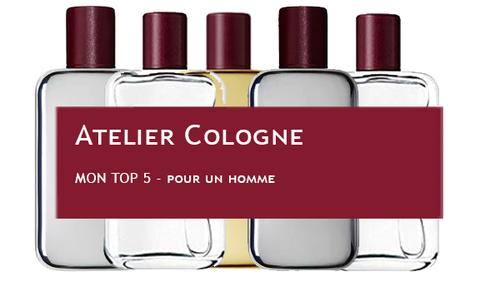 Atelier Cologne pour homme, les cinq parfums à ne pas rater
