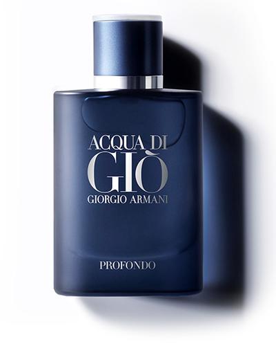 Présentation du nouveau parfum Acqua di Giò Profondo