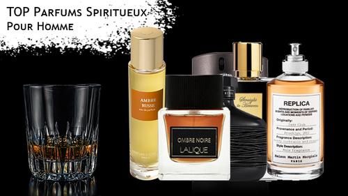Quand parfum et spiritueux ne font plus qu'un, notre sélection