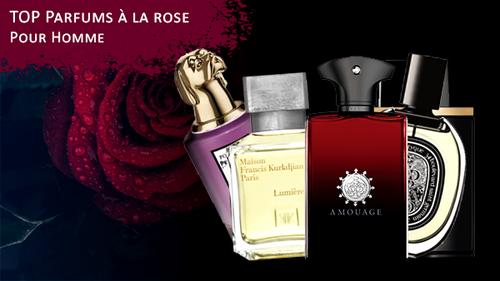 Meilleurs parfums à la rose pour homme