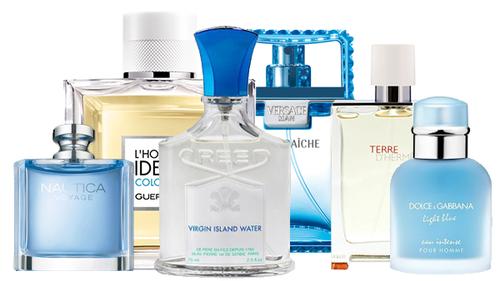 Parfums été, les meilleurs parfums estivaux pour homme