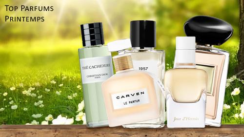 Les meilleurs parfums pour femmes du printemps
