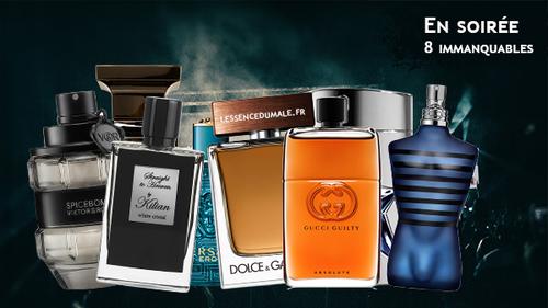 Parfum de soirée pour homme, les 8 fragrances à ne pas rater !