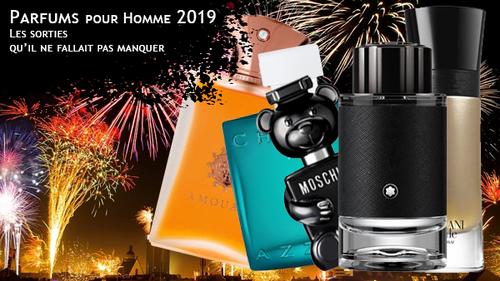Parfums homme 2019, les sorties qu'il ne fallait pas manquer !