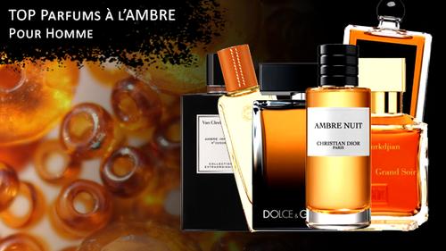 Parfum ambré pour homme, une sélection des meilleures fragrances