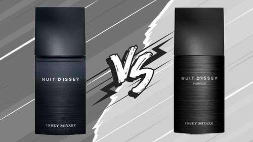 Nuit D'Issey vs Nuit D'Issey Parfum, les différences