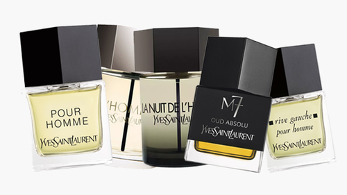 Parfums Yves Saint Laurent, mon top 5 pour un homme