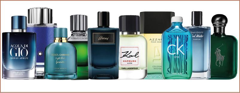 Quelques nouveaux parfums pour homme 2021
