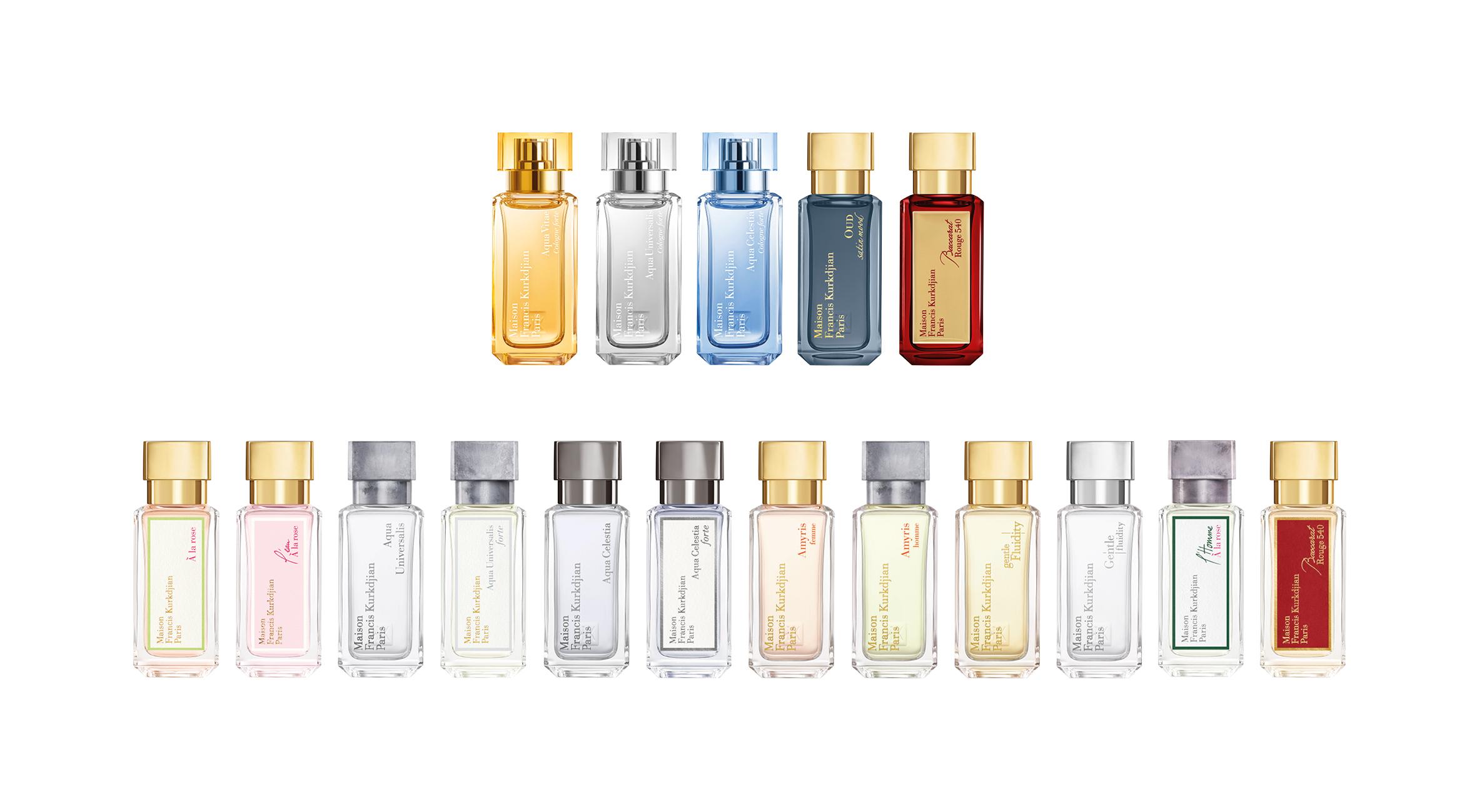 Collection Maison Francis Kurkdjian Parfums Miniatures