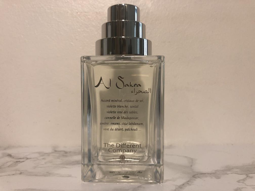 Flacon de parfum The Different Company