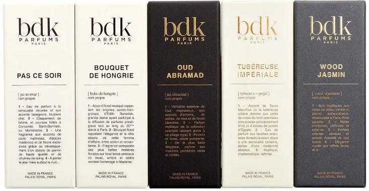Collection BDK Parfums